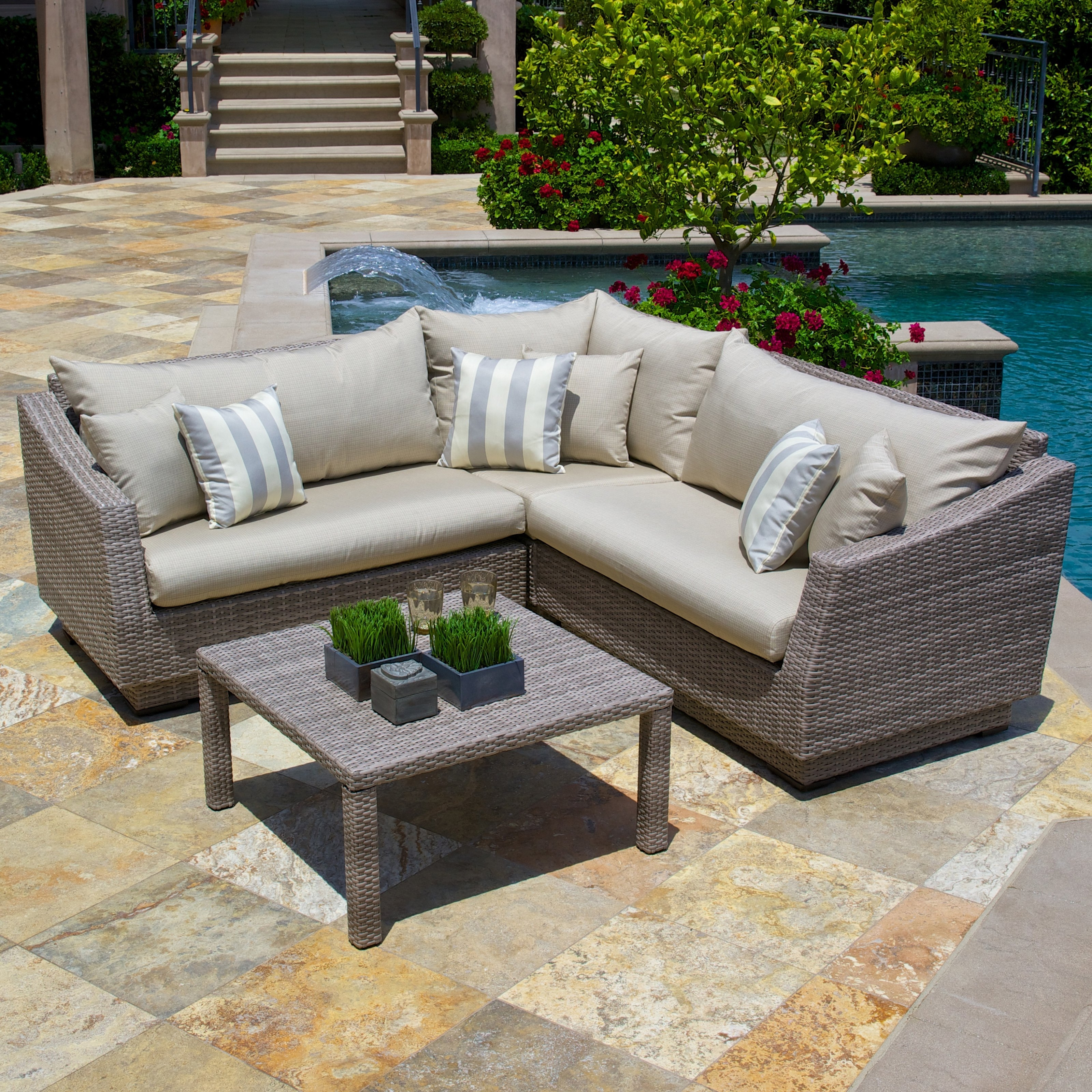 Widely Used Gray Patio Dining Sets Marvelous Popular Of Furniture Fashionable Pertaining To Grey Patio Conversation Sets (View 16 of 20)