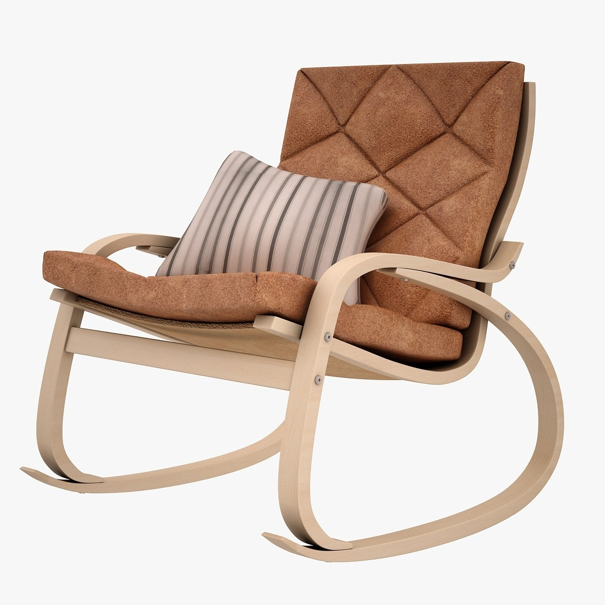 Widely Used Ikea Poang Rocking Chair 3D Model In Chair 3Dexport Within Ikea Rocking Chairs (View 20 of 20)