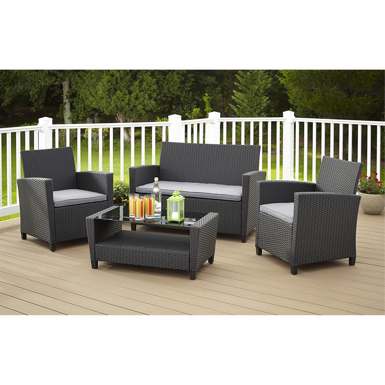 Widely Used Patio Conversation Set With Storage Pertaining To Indoor Conversation Sets Outdoor Sectional With Storage Home Depot (View 20 of 20)