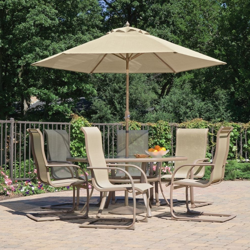 Widely Used Patio Table: Sears Fire Pit Awesome Patio Ideas Patio Furniture Sets Throughout Patio Conversation Sets With Umbrella (View 16 of 20)