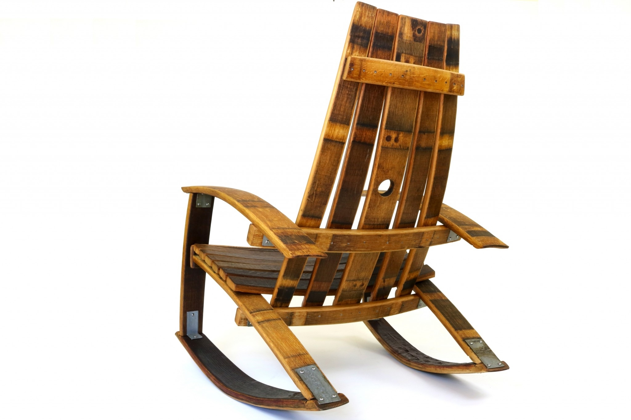 Wine Barrel Rocking Chairs (View 14 of 20)