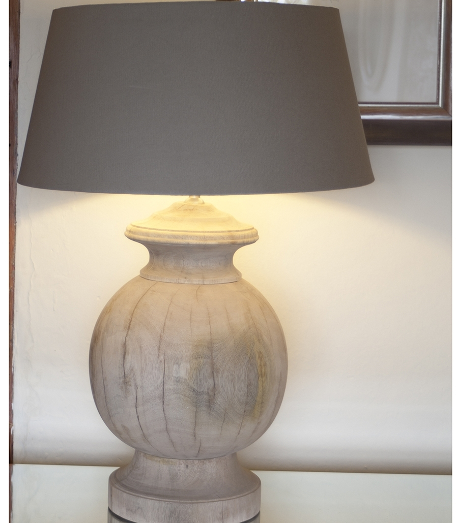 Featured Photo of Wood Table Lamps For Living Room