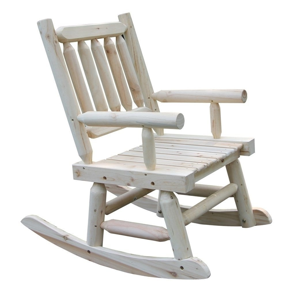 Wooden Rocking Chair With Natural Material Comfortable Oversized Regarding Well Liked Oversized Patio Rocking Chairs (View 20 of 20)