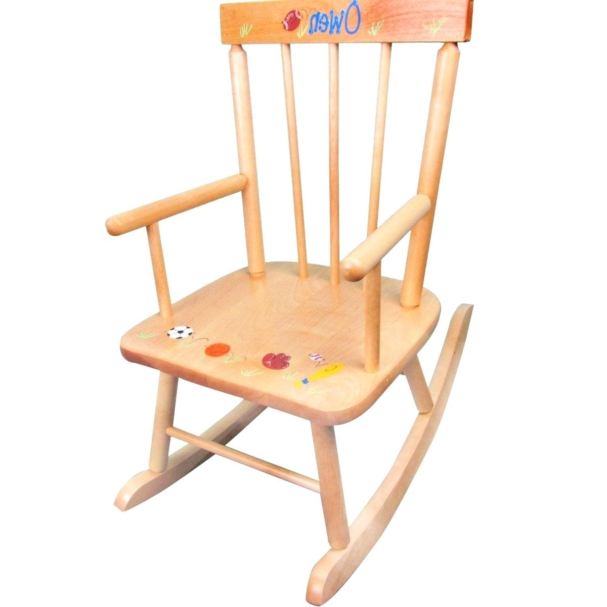 Wooden Rocking Chairs – Braintumortreatment In Latest Rocking Chairs For Toddlers (View 20 of 20)