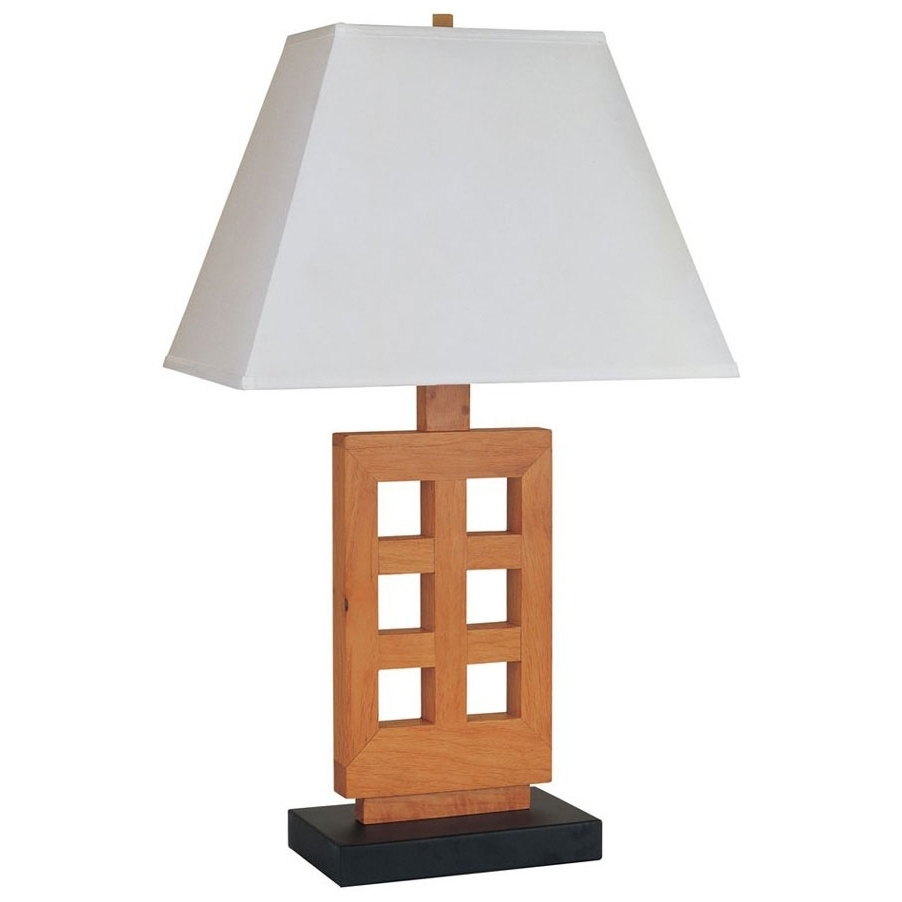 Wooden Table Lamps For Living Room Selecting A Wooden Table Lamps With Regard To Recent Wood Table Lamps For Living Room (View 7 of 20)