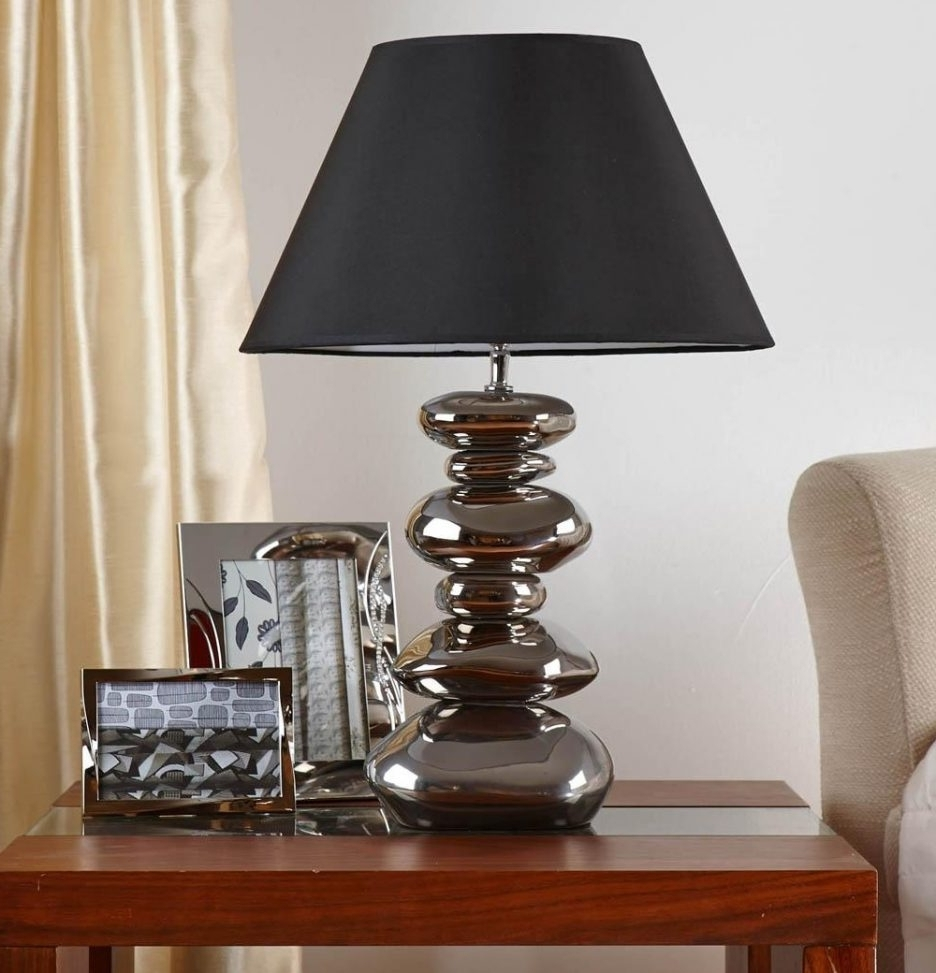 Wrought Iron Living Room Table Lamps Within 2018 Black Wroughtron Table Lamps Rustic Lampsblack Rod Lampscountry (View 19 of 20)
