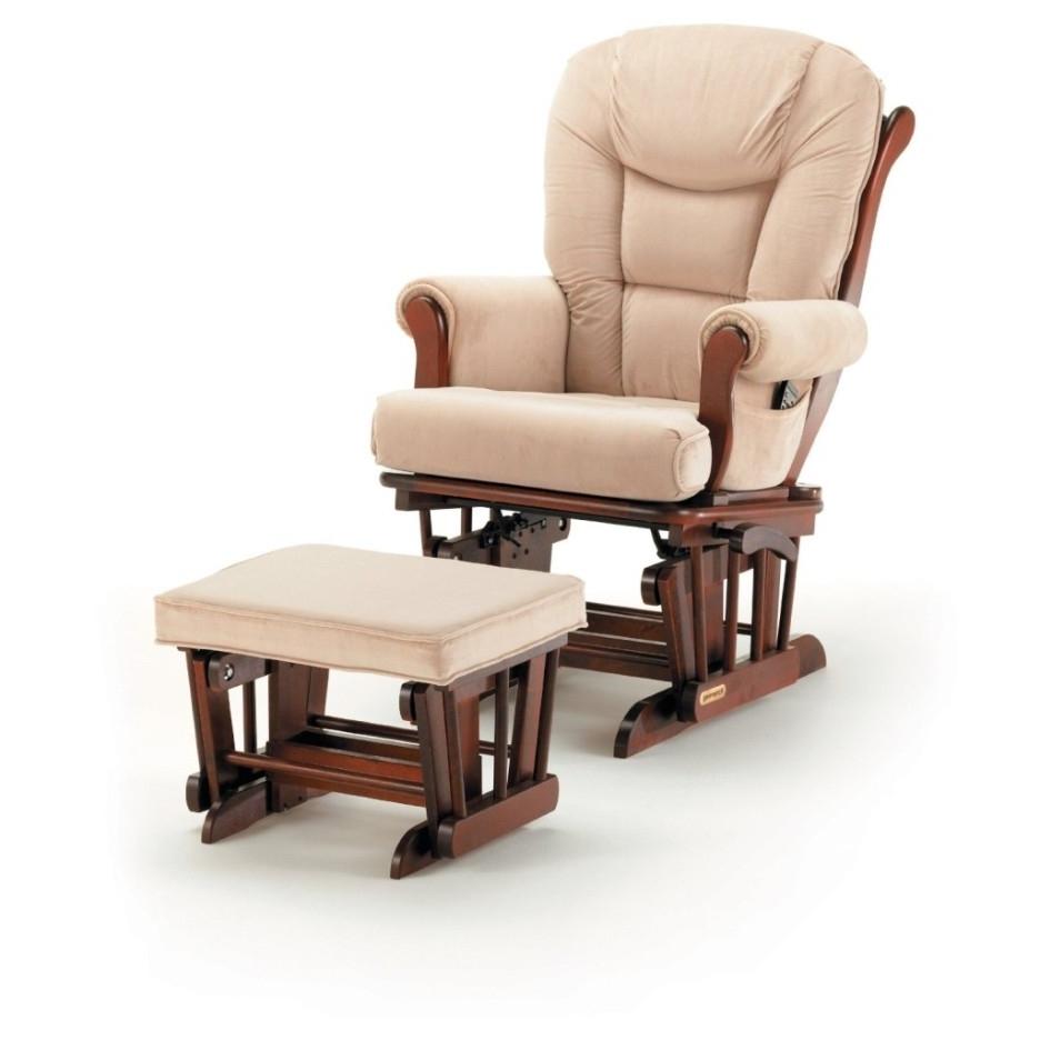 Zelfaanhetwerk Regarding Most Recently Released Rocking Chairs With Footstool (View 7 of 20)