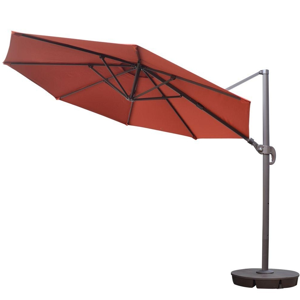 2019 11 Ft. Sunbrella Patio Umbrellas Within Island Umbrella Freeport 11 Ft (View 3 of 20)