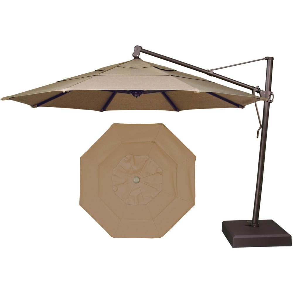 2019 Garden Treasures Patio Umbrella With Garden Treasures Patio Umbrellas (Gallery 7 of 20)
