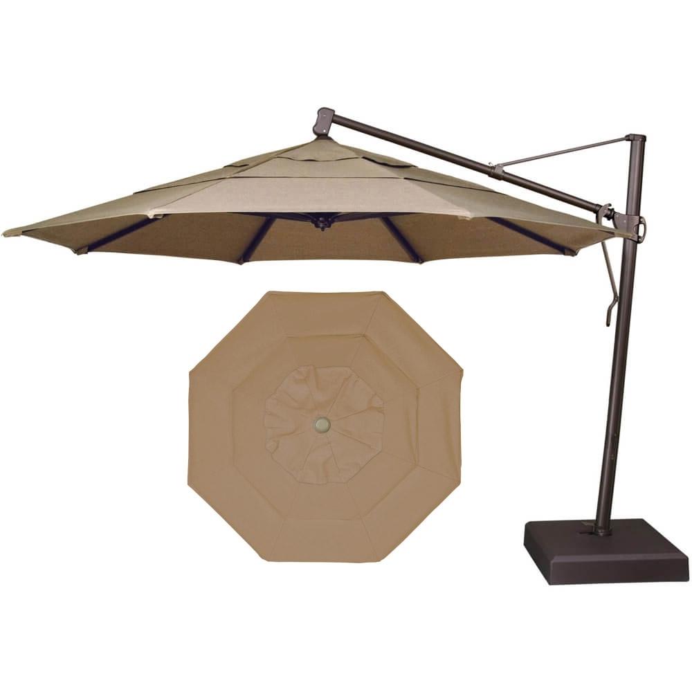 2019 Garden Treasures Patio Umbrella With Garden Treasures Patio Umbrellas (View 7 of 20)