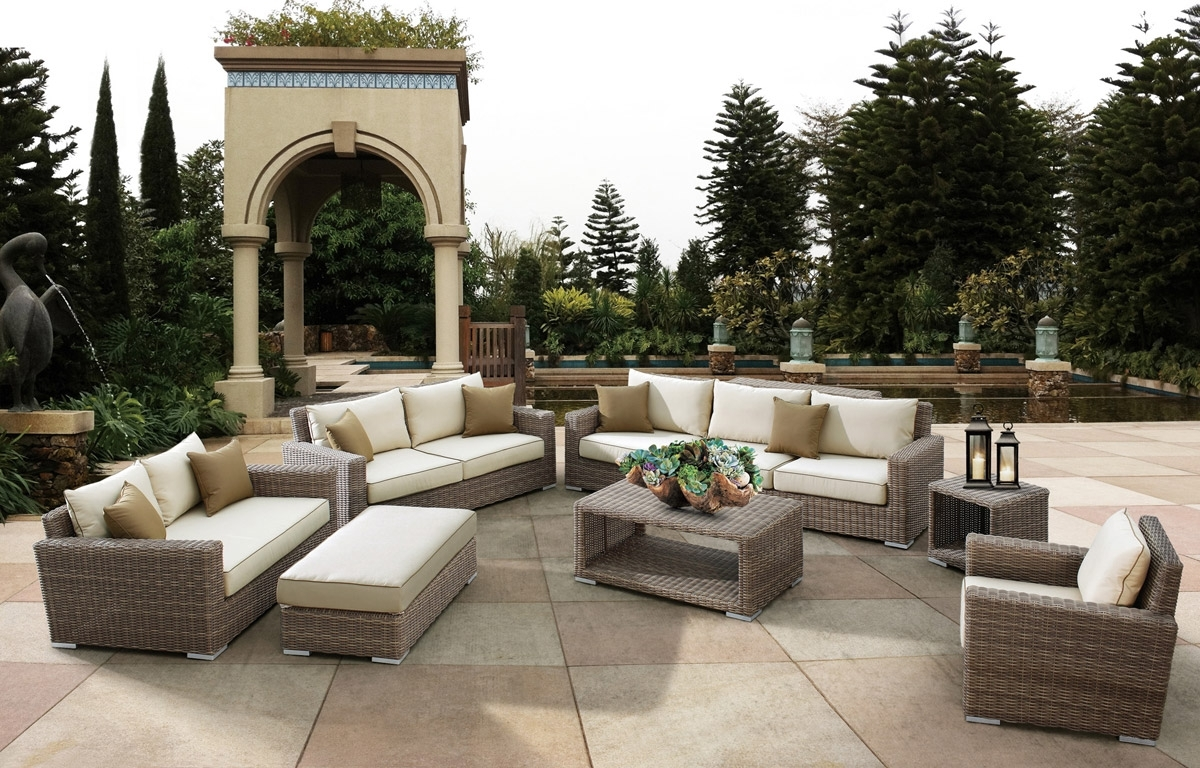 2019 High End Patio Umbrellas In The Top 10 Outdoor Patio Furniture Brands (View 1 of 20)