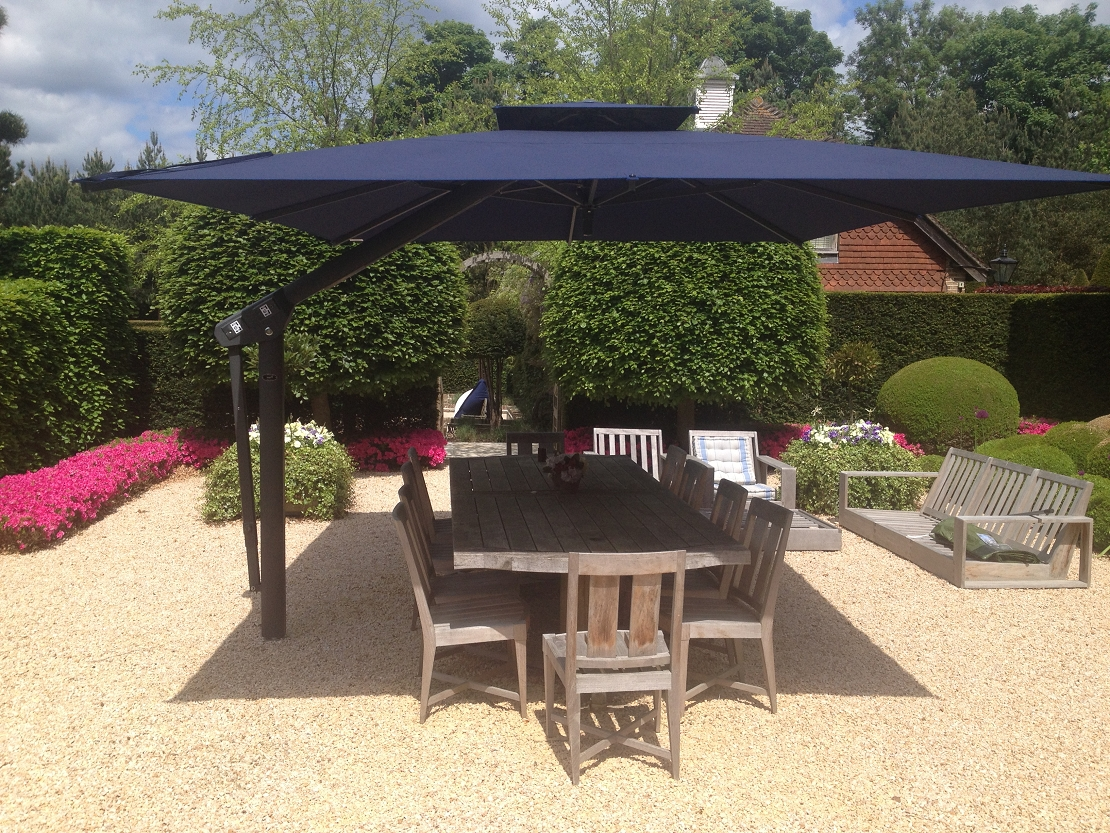 2019 Large Commercial Umbrellas : Kimberly Porch And Garden – Solutions Within Extra Large Patio Umbrellas (Gallery 1 of 20)