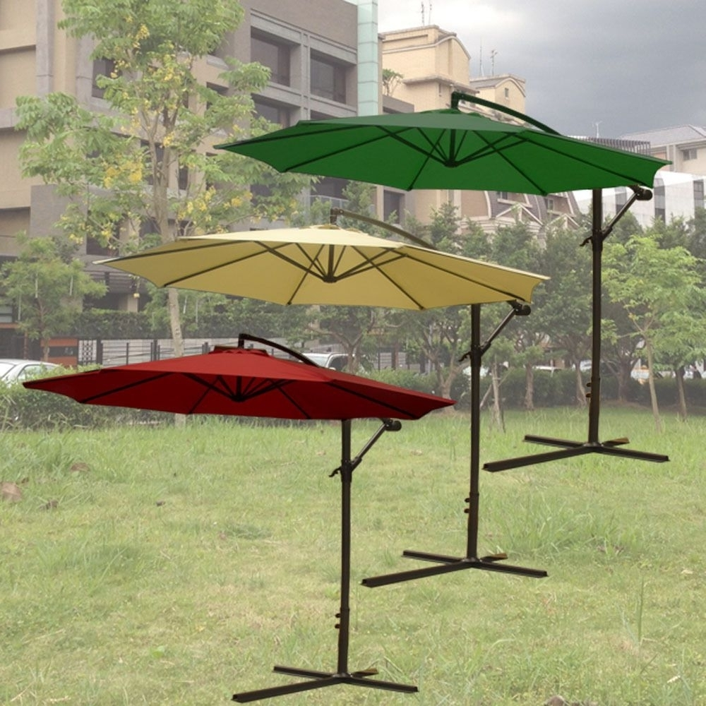 2019 Marvelous Offset Patio Umbrellas Fiberbuilt Umbrellas Target Offset Pertaining To Unusual Patio Umbrellas (View 18 of 20)