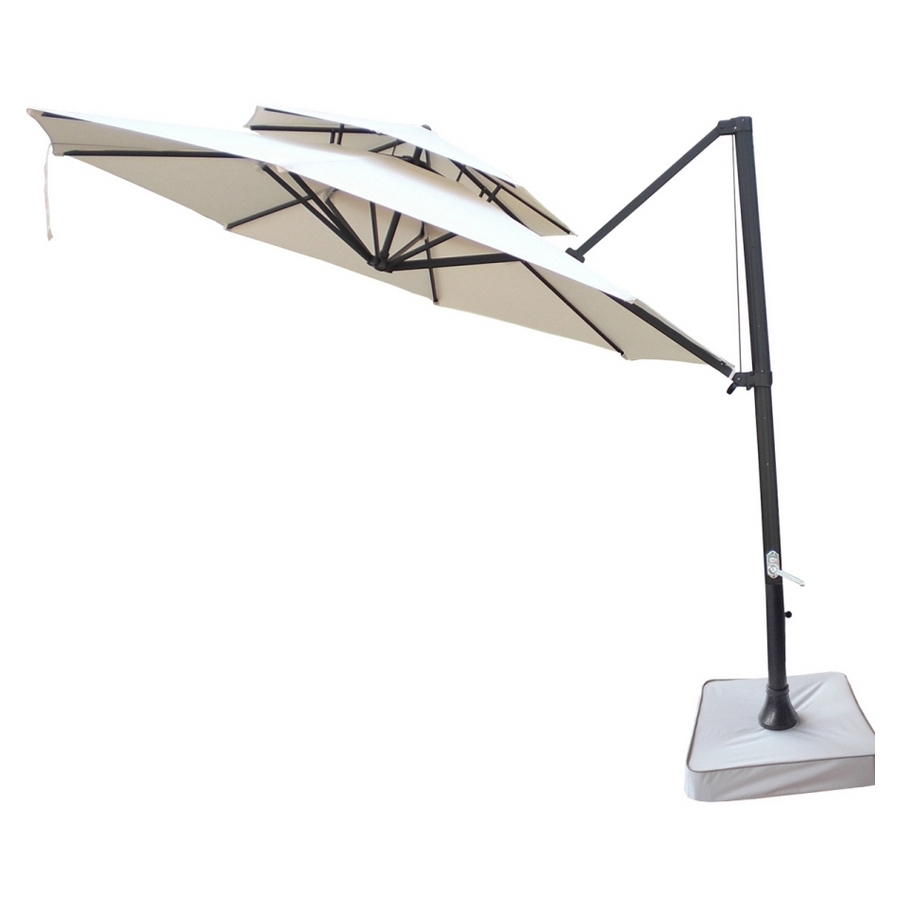 2019 Patio Umbrellas At Lowes In Shop Southern Patio 11' Beige Patio Umbrella At Lowes (View 18 of 20)