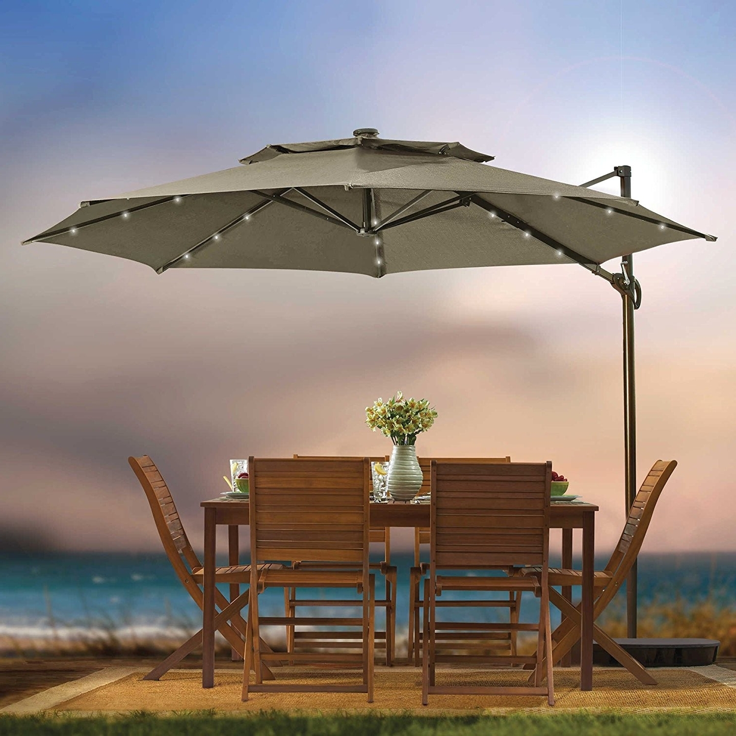 4 6 Foot Patio Umbrellas Awesome Amazon Sundale Outdoor 9 Feet Steel Pertaining To Most Current Unusual Patio Umbrellas (View 3 of 20)