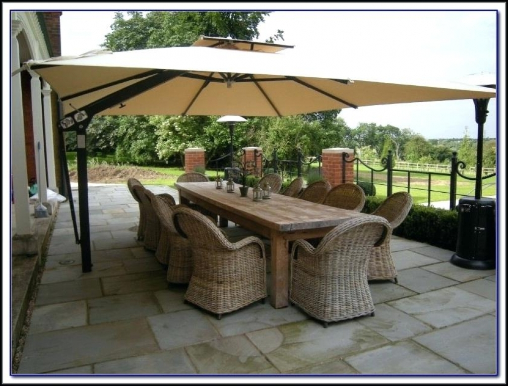 43 Extra Large Patio Umbrella, Large Patio Umbrellas Image All Home Throughout Most Up To Date Giant Patio Umbrellas (View 2 of 20)