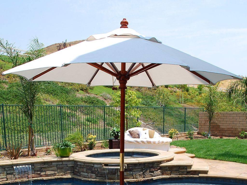 45 Oversized Patio Umbrellas, Large Patio Umbrellas~Large Patio Regarding 2019 Deluxe Patio Umbrellas (View 2 of 20)