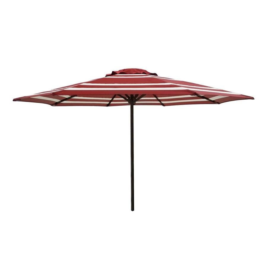 46 Patio Umbrellas Lowes, 55 159 015101 Ec Ravenna Patio Umbrella In Popular Lowes Offset Patio Umbrellas (View 10 of 20)