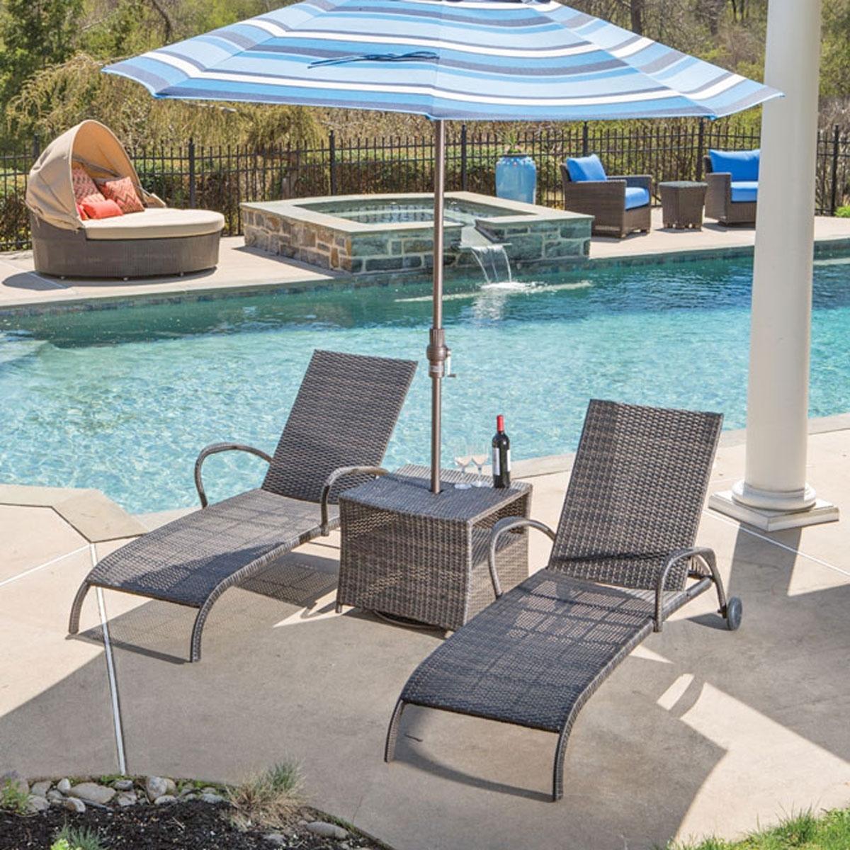 54 Patio Umbrella Side Table, Diy Patio Umbrella Stand Side Table Throughout Latest Patio Umbrella Side Tables (View 9 of 20)