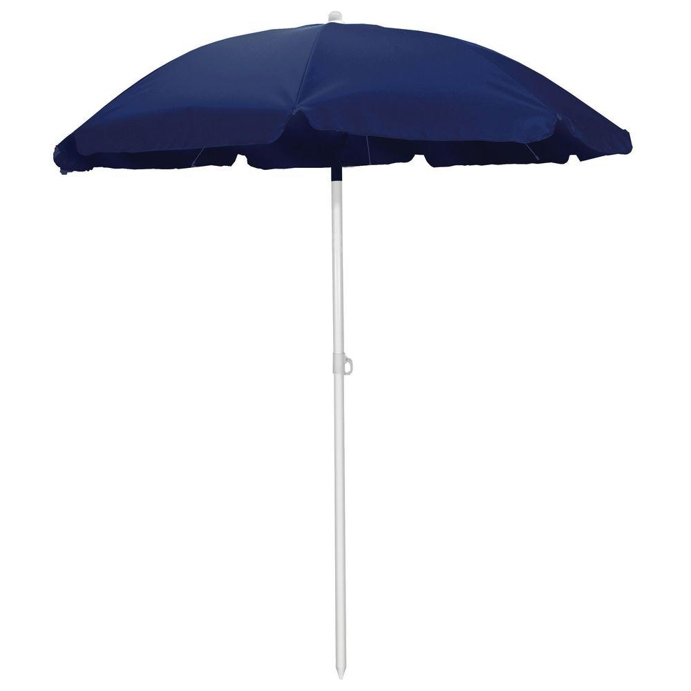 7 – 6 – 5.5 – Patio Umbrellas – Patio Furniture – The Home Depot Pertaining To 2018 Home Depot Patio Umbrellas (Gallery 19 of 20)