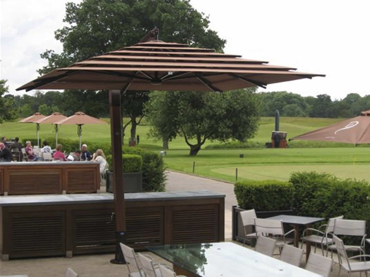 Amepac Furniture Throughout Famous Large Patio Umbrellas (View 7 of 20)