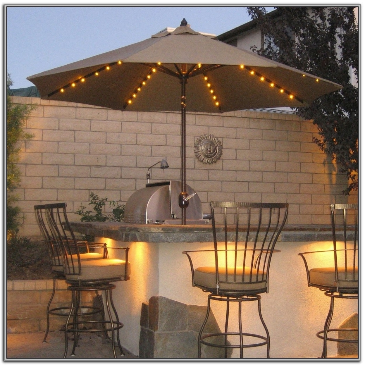Best And Newest Amazon Patio Umbrellas For Furniture: Costco Cantilever Umbrella For Most Dramatic Shade (View 9 of 20)