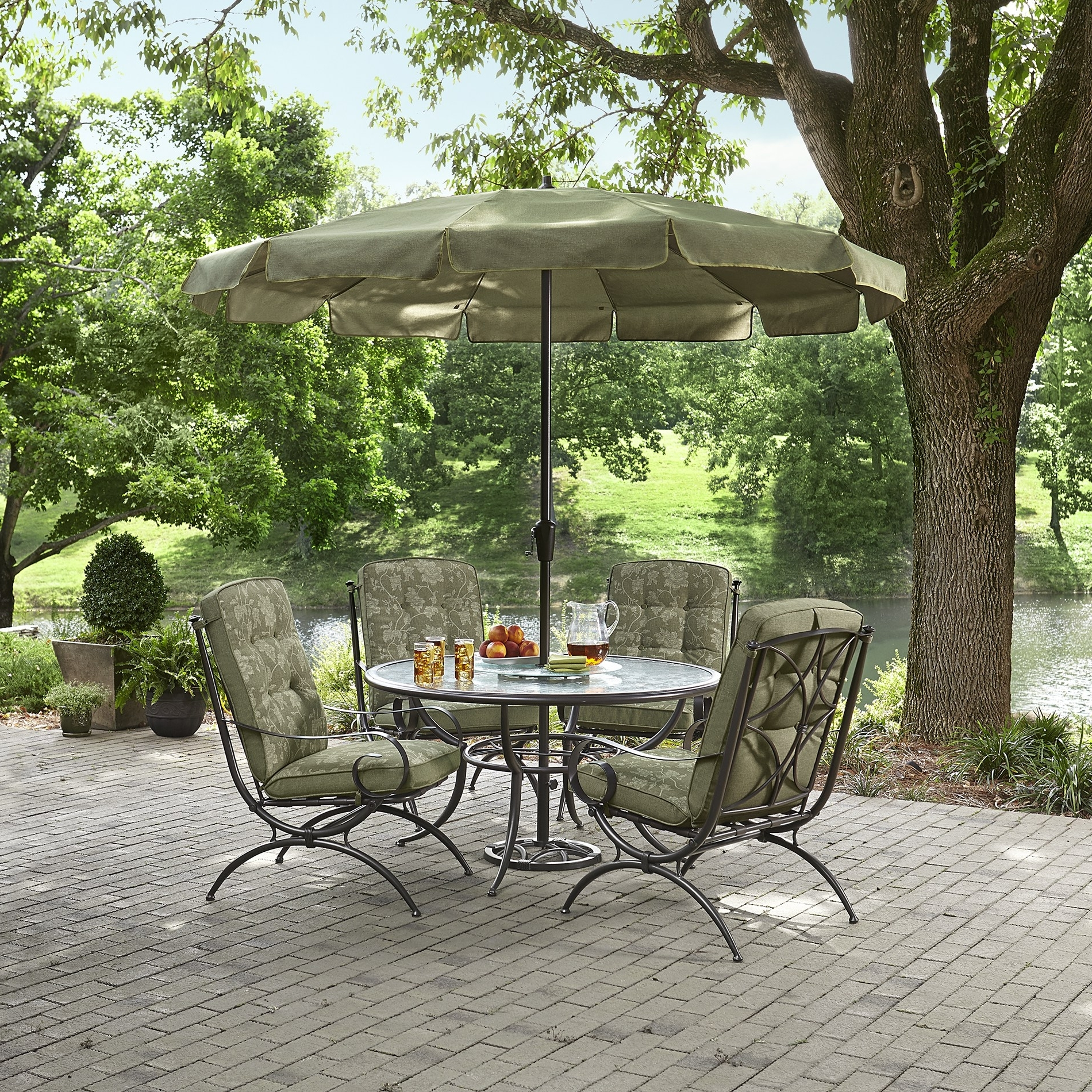 Best And Newest Sears Patio Umbrellas Pertaining To Peaceably Cheap Wicker Furniture Kmart Patio Umbrellas Sears Patio (View 9 of 20)