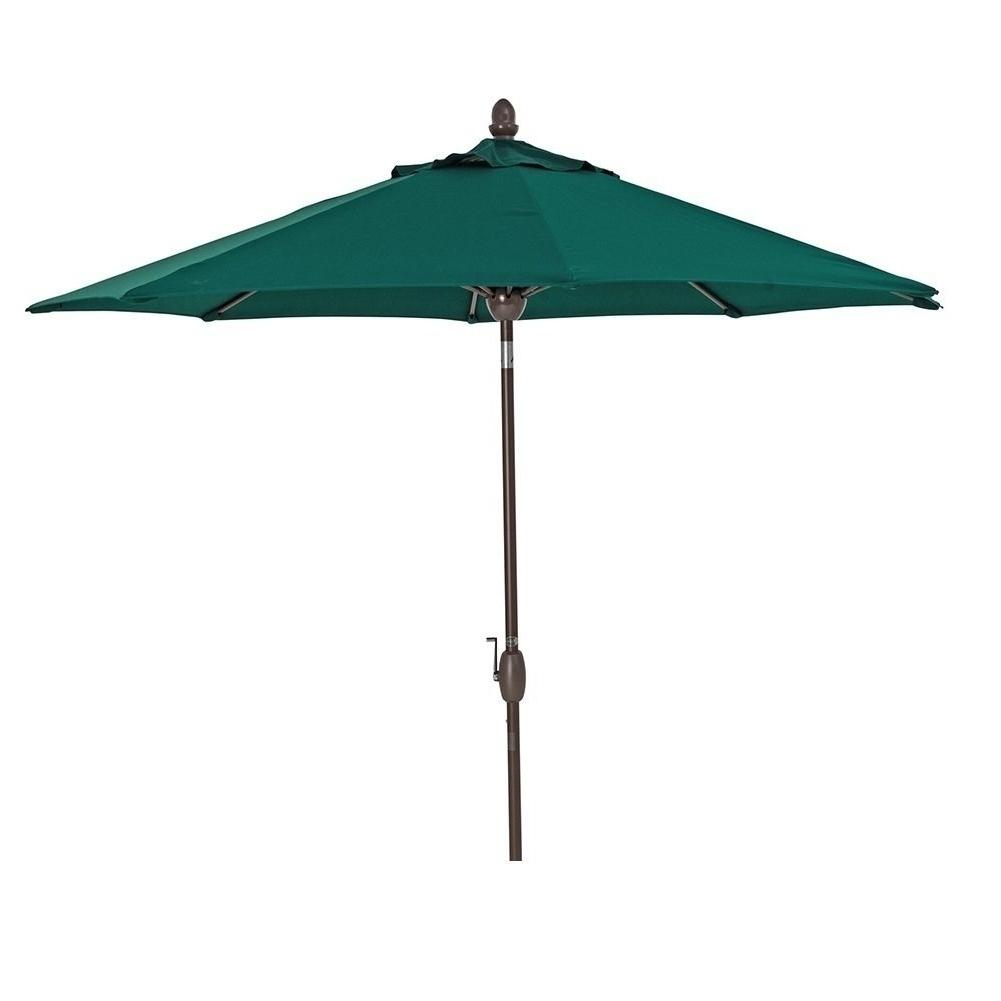 Best And Newest Shop Sorara Sunbrella Patio Umbrella 9' Outdoor Market Table Pertaining To Sunbrella Patio Table Umbrellas (View 17 of 20)