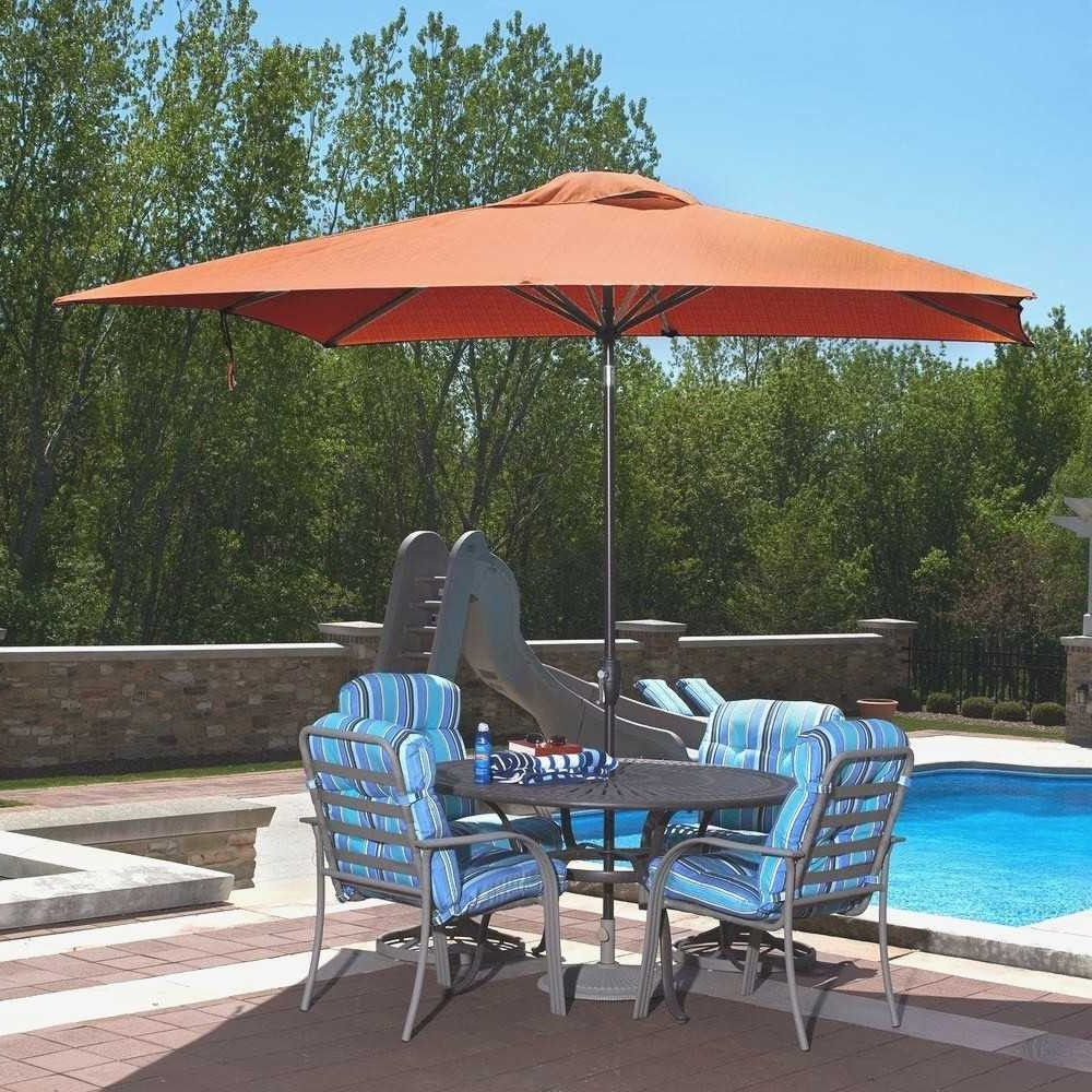 Best And Newest Sunbrella Patio Umbrella With Lights Intended For 8 Ft Patio Umbrella Best Of Patio Umbrella Sunbrella Fresh Galtech  (View 2 of 20)