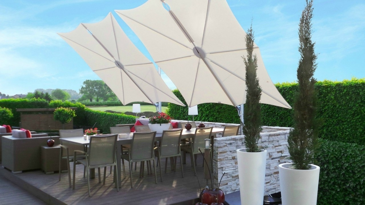 Best And Newest Wind Resistant Patio Umbrellas With Wind Resistant Patio Umbrella Australia (View 2 of 20)