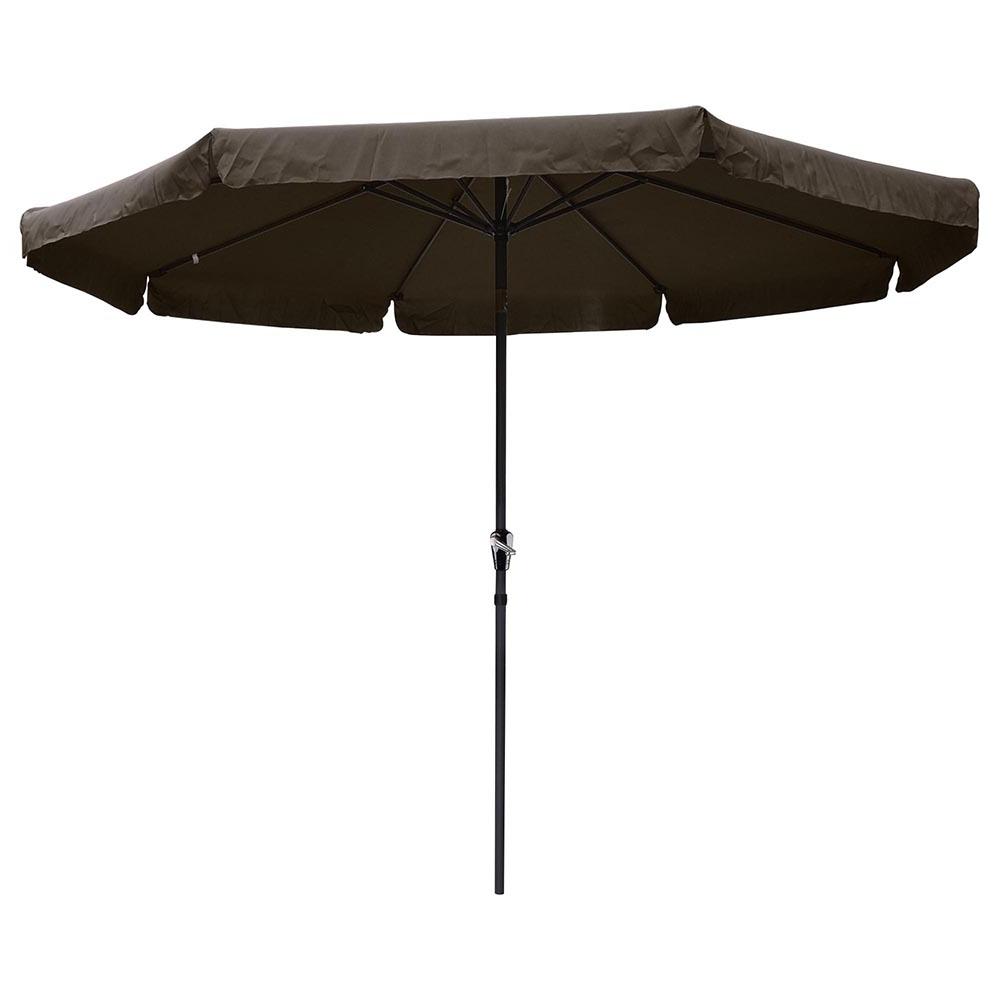 Best And Newest Yescomusa: 10' Aluminum Outdoor Patio Umbrella W/ Valance Crank Tilt With Tilting Patio Umbrellas (View 10 of 20)