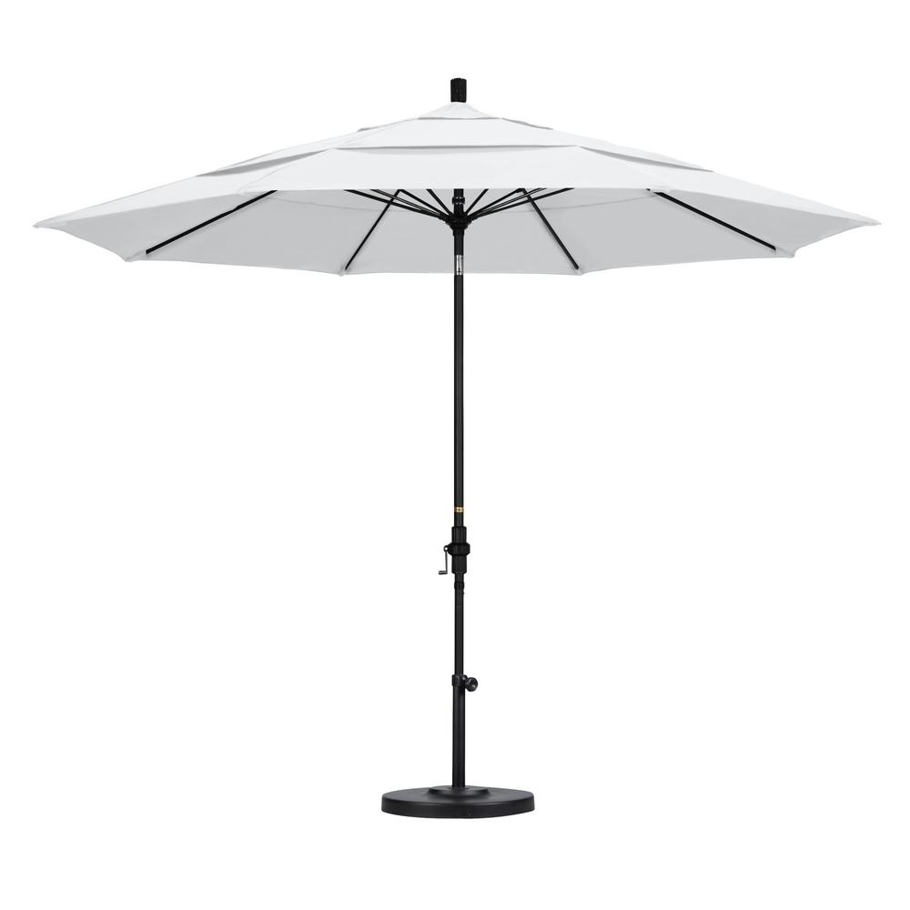 Black And White Patio Umbrellas Throughout Most Recently Released California Umbrella 11 Ft (View 18 of 20)