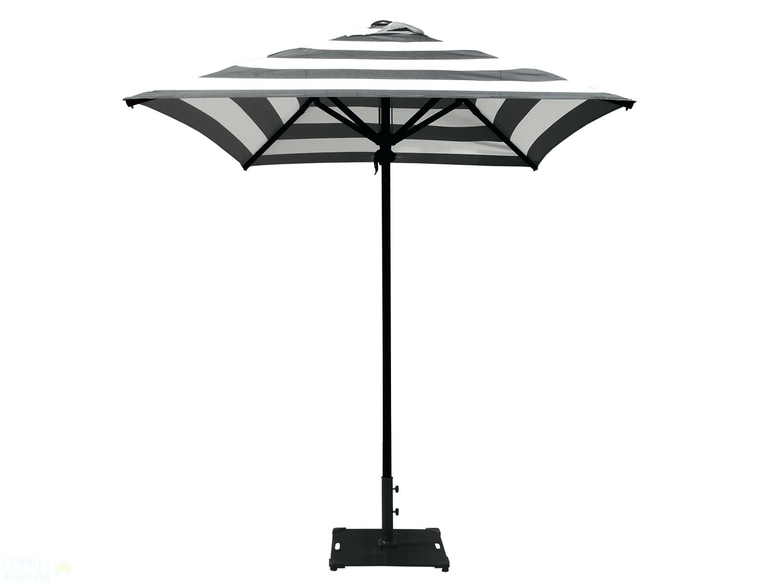 Black And White Striped Patio Umbrellas With Regard To Favorite Striped Umbrella Beach Resort Spa Replacement Canopy Pink Patio (View 4 of 20)