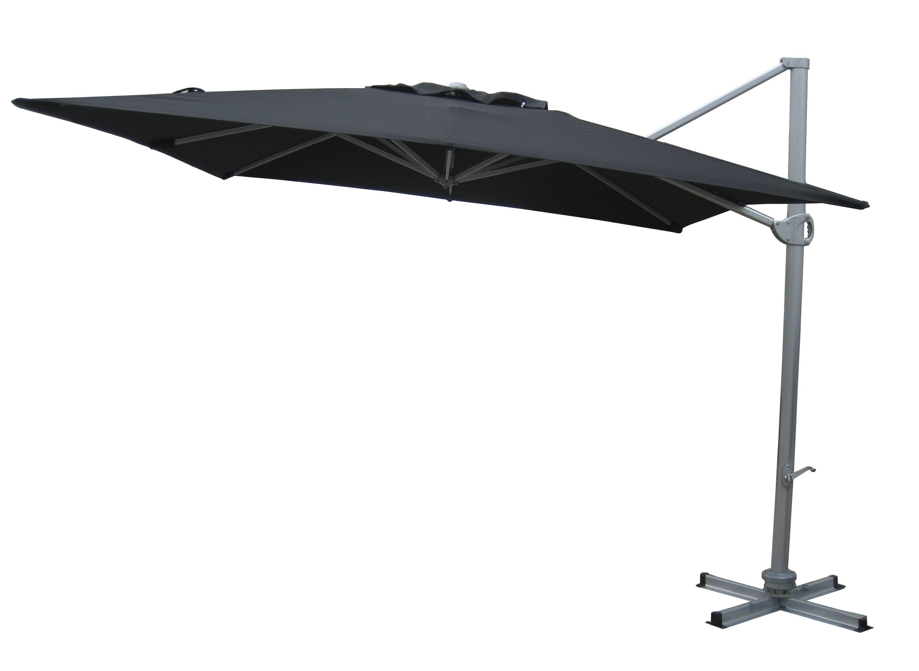 Black Patio Umbrellas In Most Popular Best Cantilever Patio Umbrella Luxury Cantilever Patio Umbrellas (View 5 of 20)
