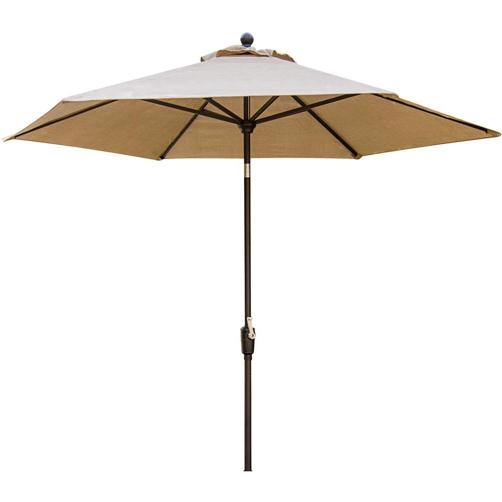 Cambridge Concord 11 Ft. Patio Umbrella In Tan Concrdumb 11 – The Within Well Known 11 Ft (View 11 of 20)