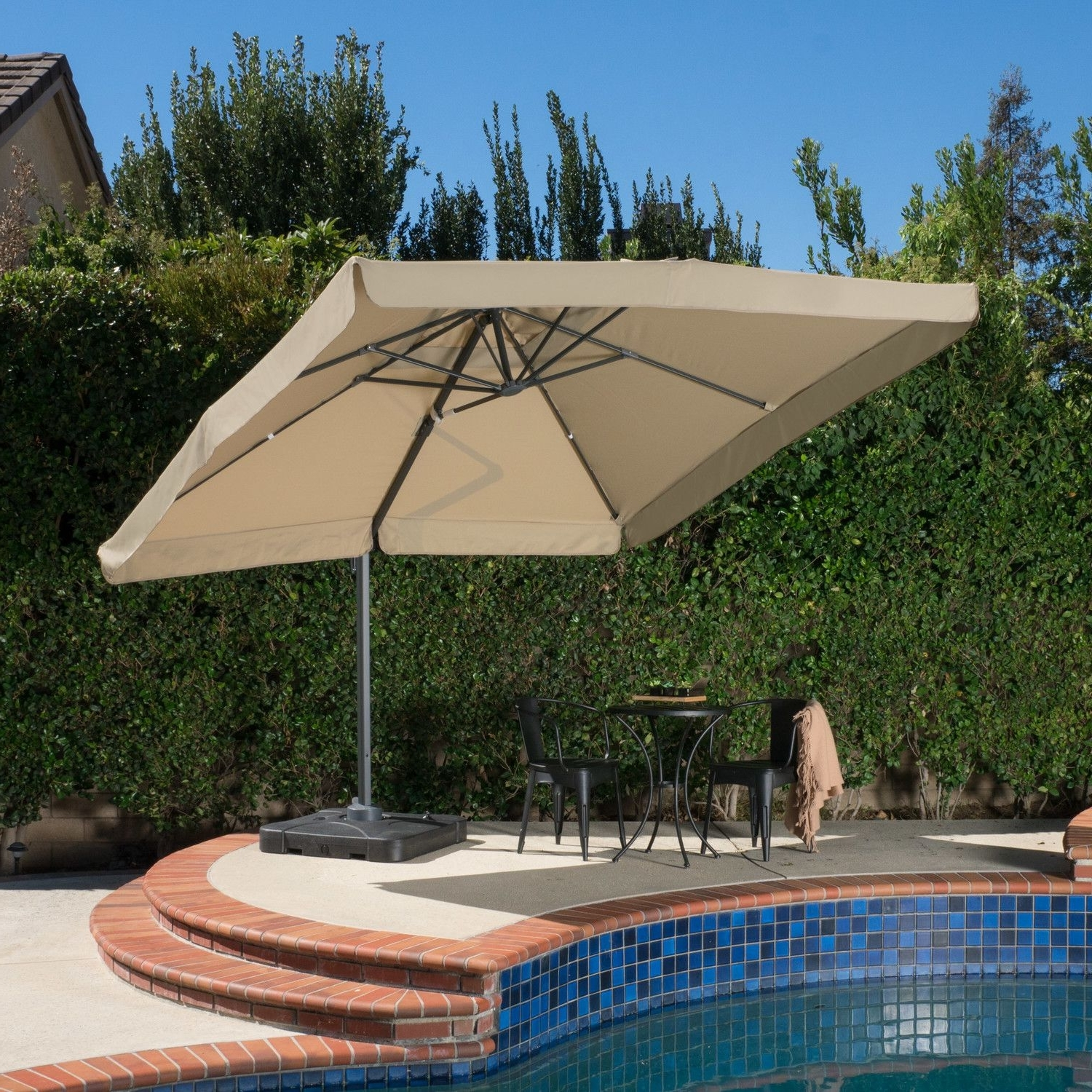 Cantilever Umbrella, Outdoor In Most Popular Wayfair Patio Umbrellas (View 1 of 20)