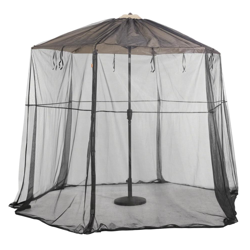 Classic Accessories Patio Umbrella Insect Net Canopy 55 605 012801 Regarding 2019 Patio Umbrellas With Netting (View 10 of 20)