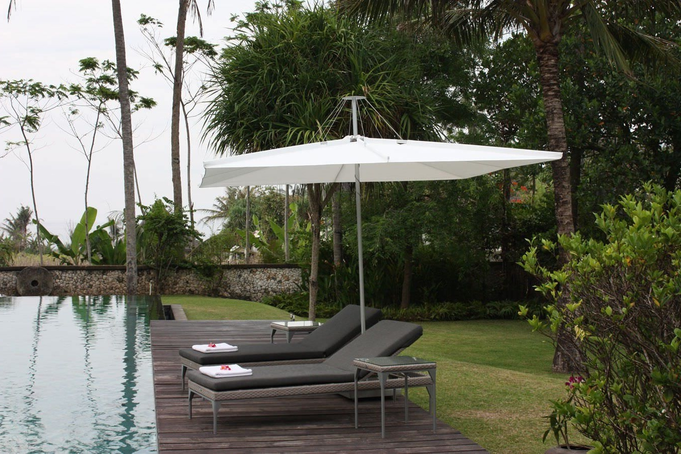 Featured Photo of Wind Resistant Patio Umbrellas
