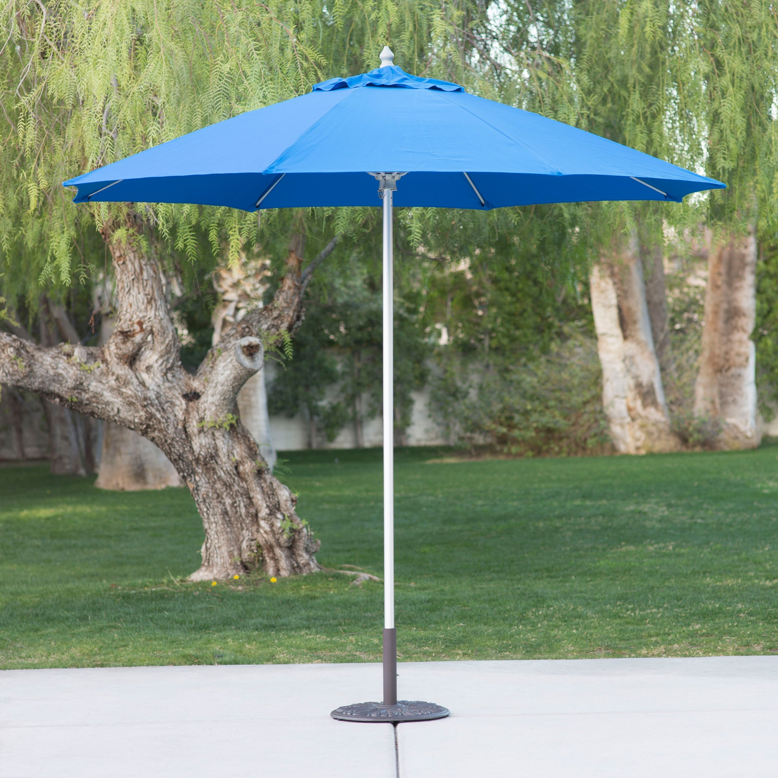 Commercial Patio Umbrellas With Regard To Most Recently Released Belham Living 9 Ft (View 19 of 20)
