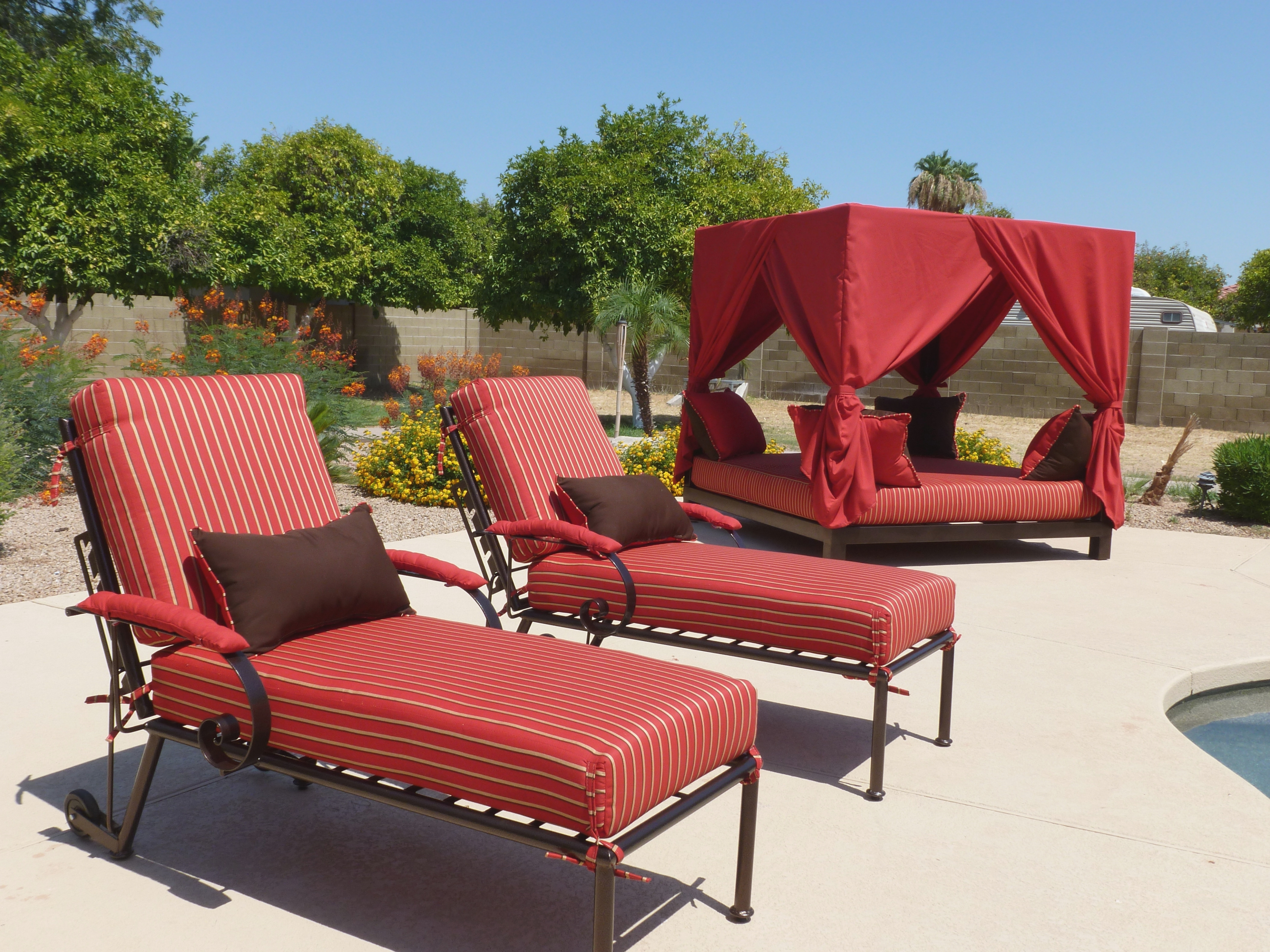 Coolest Todays Patio Furniture Scottsdale F45X On Creative Small Pertaining To Widely Used Upscale Patio Umbrellas (View 4 of 20)
