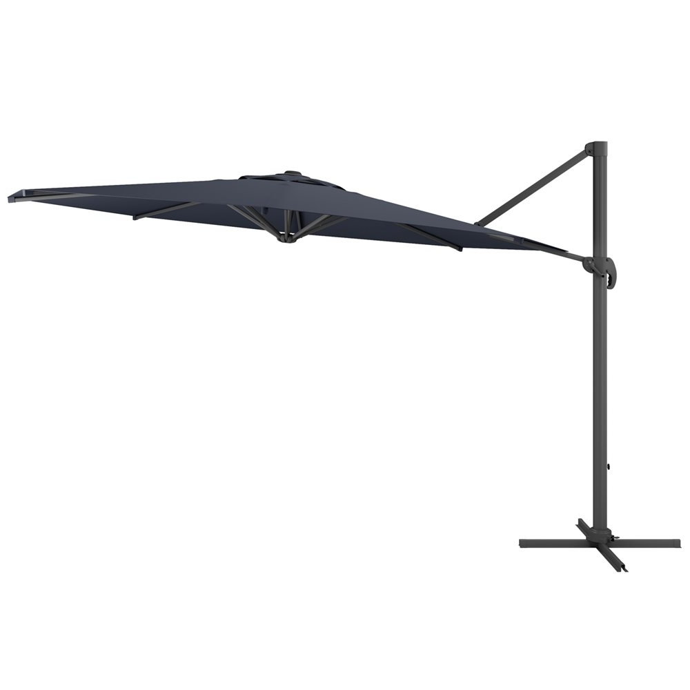 Corliving Ppu 5 Deluxe Cantilever Patio Umbrella (View 8 of 20)