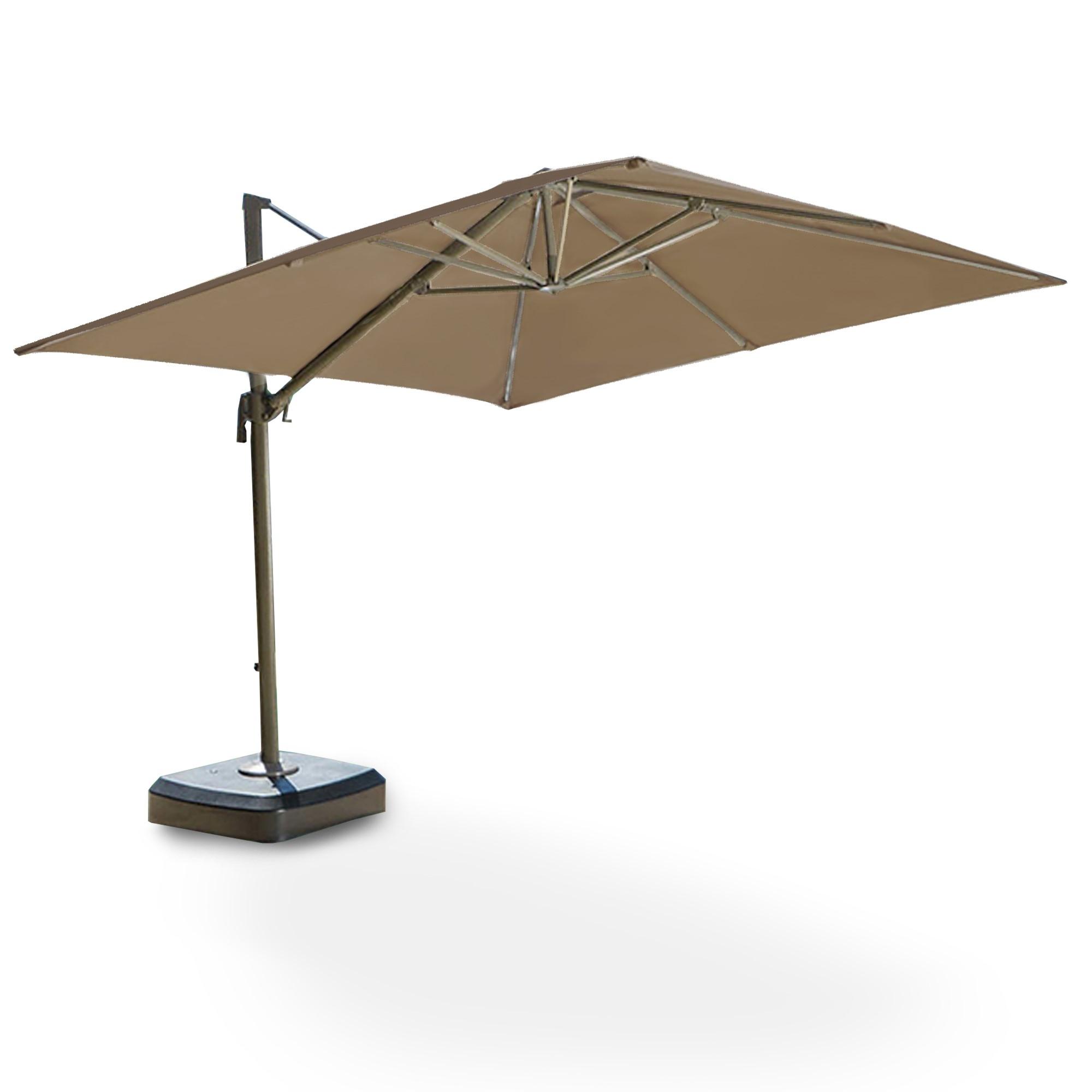 Costco Replacement Umbrella Canopy – Garden Winds Regarding Newest Costco Cantilever Patio Umbrellas (View 17 of 20)