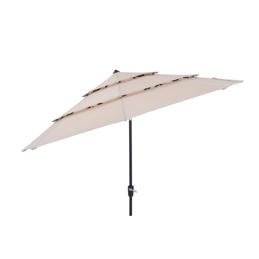 Current Shop Patio Umbrellas At Lowes For Grey Patio Umbrellas (View 3 of 20)