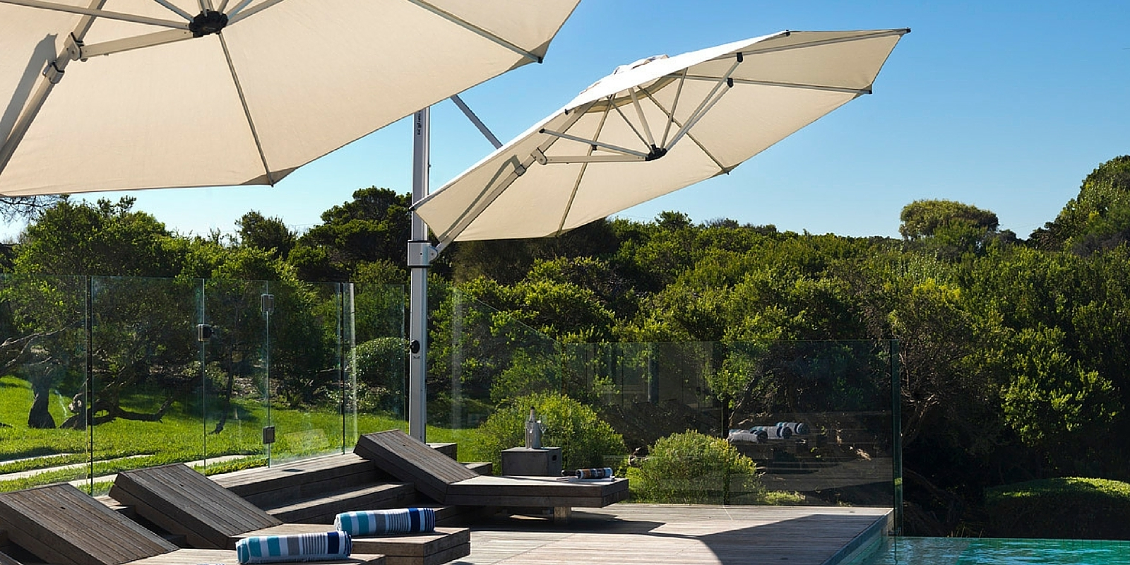 Current Stay Cool With Outdoor Umbrellas Within Patio Umbrellas With Wheels (View 1 of 20)
