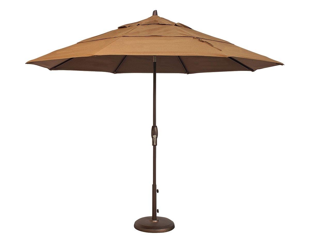 Custom Sunbrella Patio Umbrellas Intended For Famous 11' Octagon Auto Tilt Umbrella (um812) (View 9 of 20)