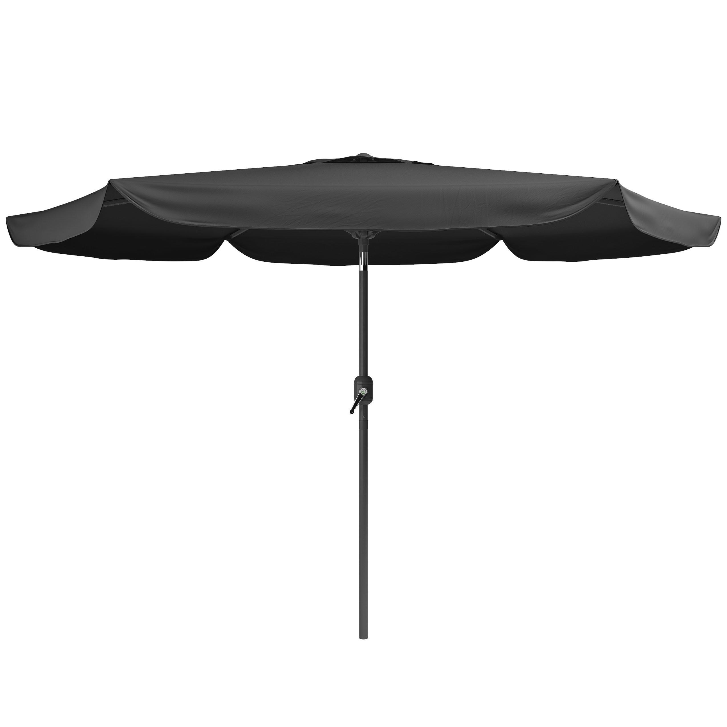 Dcor Design Corliving 10' Market Umbrella & Reviews (Gallery 5 of 20)