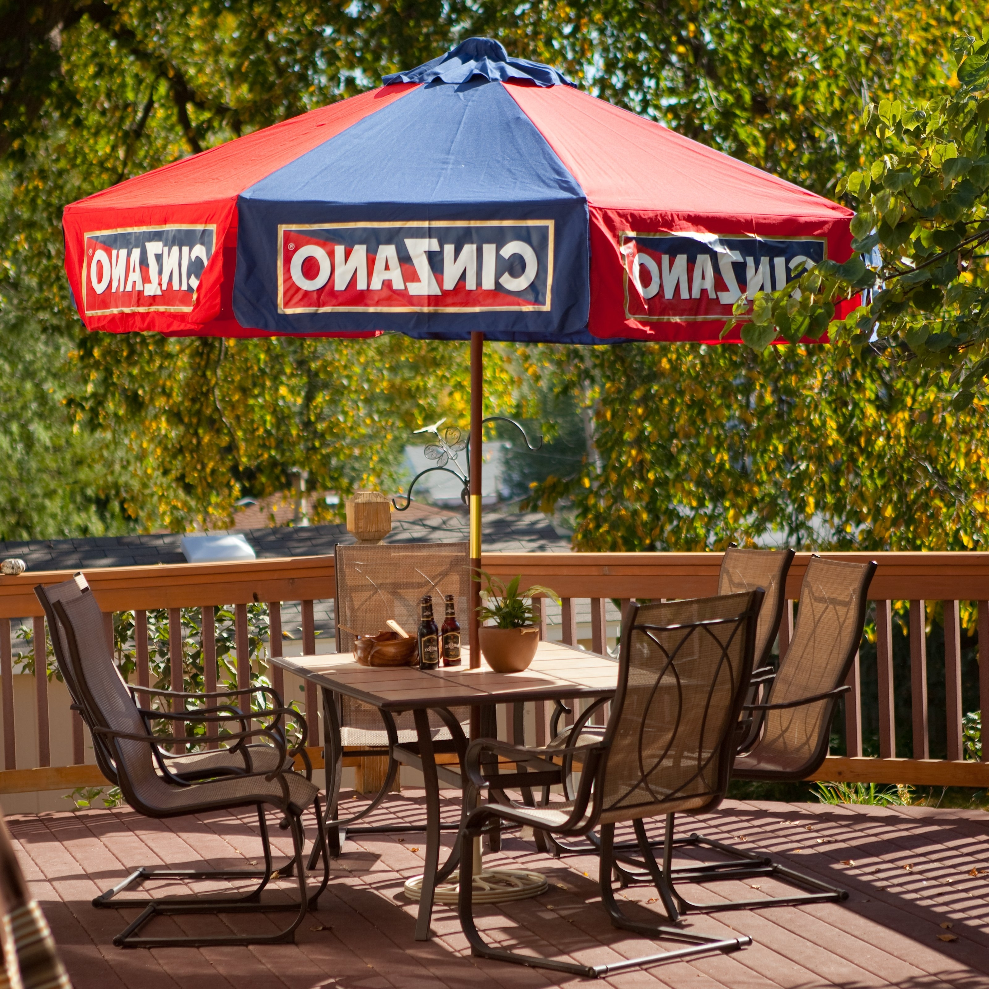 Destinationgear 6 Ft. Aluminum Cinzano Patio Umbrella (Gallery 19 of 20)
