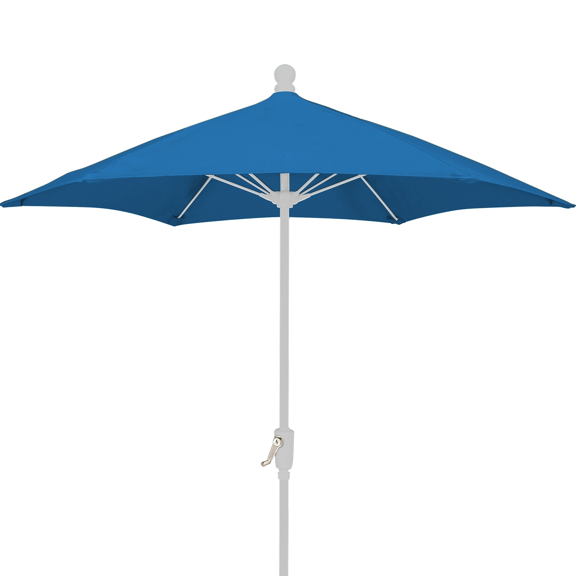 Dfohome For Most Popular Patio Umbrellas With White Pole (Gallery 6 of 20)