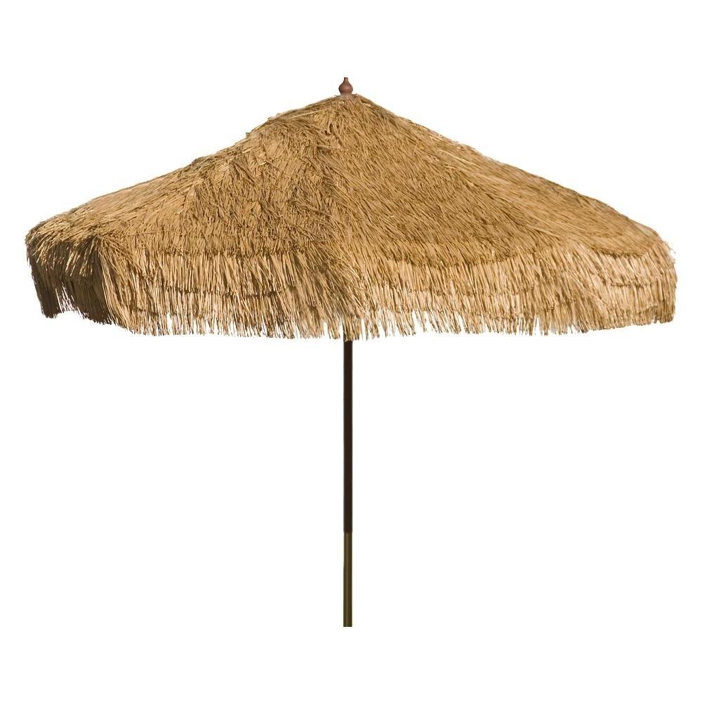 Drape Patio Umbrellas In 2018 Destinationgear Palapa 9 Ft. Wood Drape Patio Umbrella In Whiskey (Gallery 5 of 20)