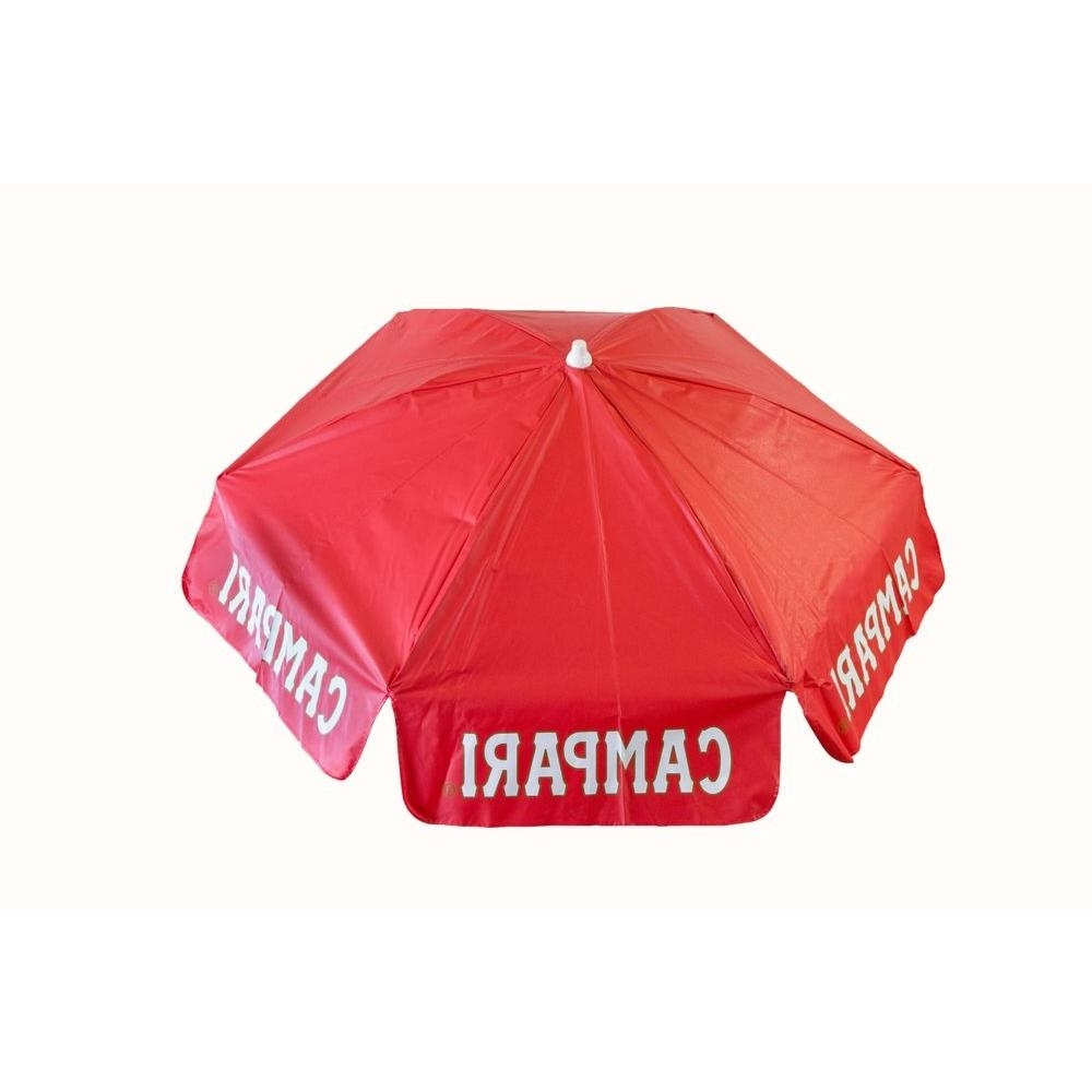 Drape Patio Umbrellas With Regard To Current Destinationgear Campari 6 Ft. Aluminum Tilt Patio Umbrella In Red (Gallery 12 of 20)